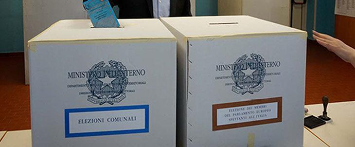 Elezioni, seggi aperti per le comunali e per le europee fino alle ore 23