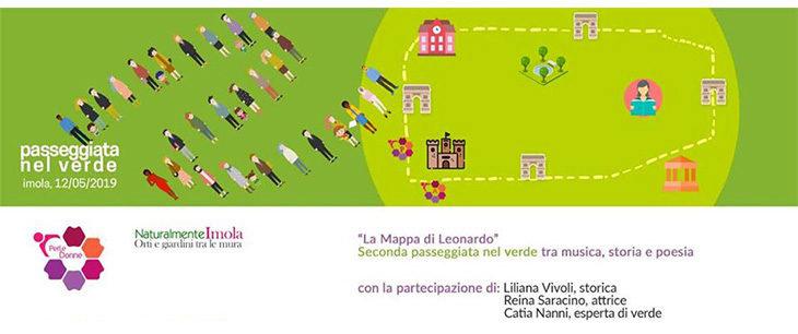 «La Mappa di Leonardo», una domenica pomeriggio «PerLeDonne» nel verde di Imola