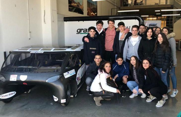 «Emilia 4», il modello di veicolo ad energia solare studiato dagli studenti dell'istituto Paolini-Cassiano