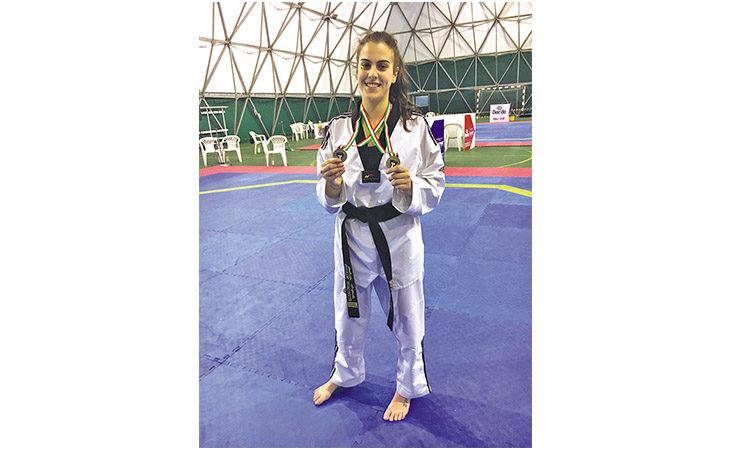 Taekwondo, la medicinese Silvia Lombardi sul trono tricolore universitario