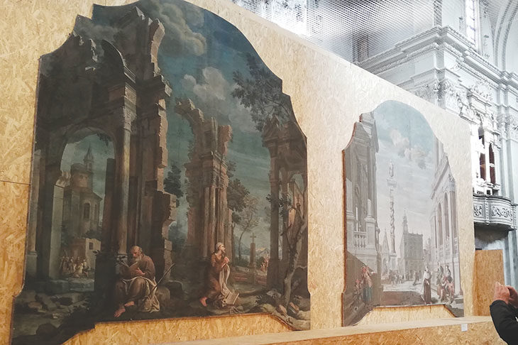 Mostra con pale settecentesche e lavori di riqualificazione per la ex chiesa del Carmine di Medicina