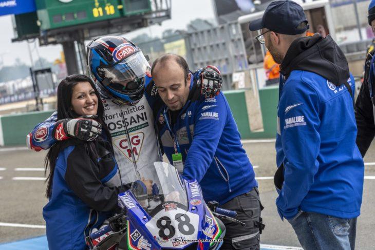 Le Mans: podio tutto italiano alla Bridgestone Handy Race 600 per piloti diversamente abili