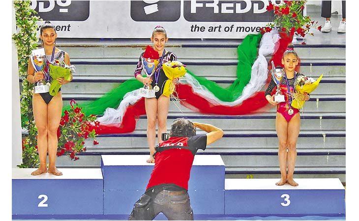 Ginnastica, la Biancoverde regina di Sicilia. Il tecnico Zuffa: «Soddisfatto delle mie ragazze»