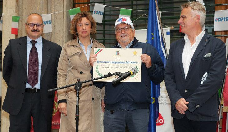 """Cinque cittadini imolesi premiati per le loro attività di volontariato a servizio del """"bene comune'"""