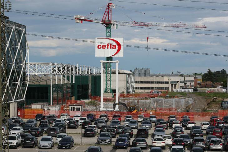 E' in costruzione in via Bicocca a Imola il nuovo showroom e training center della Cefla per il settore Medical