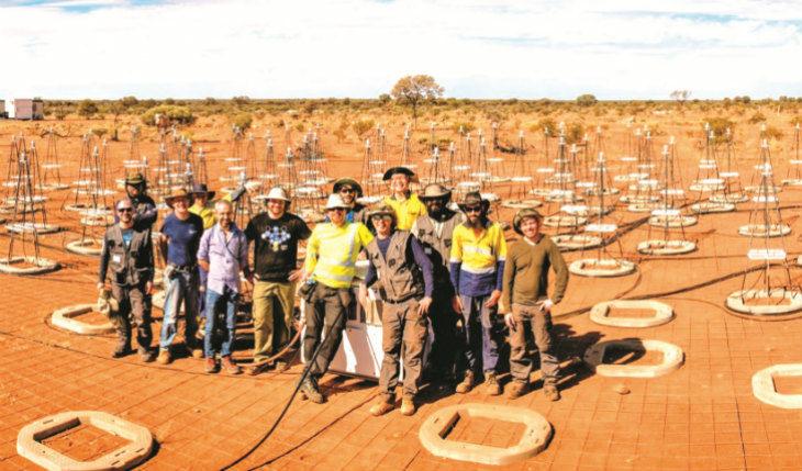 Da Medicina all'Australia i tecnici del radiotelescopio impegnati a livello internazionale nel progetto Ska