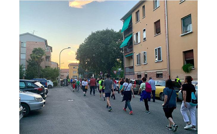 «Camminacittà speciale», a Imola gruppo unico dalla Bocciofila in direzione «Montericco»