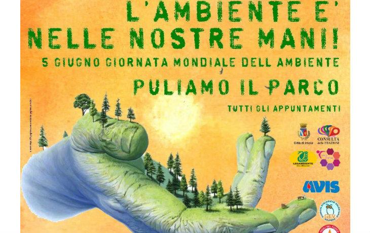 Un sabato a ripulire il lungofiume a Imola in occasione della Giornata mondiale dell'ambiente
