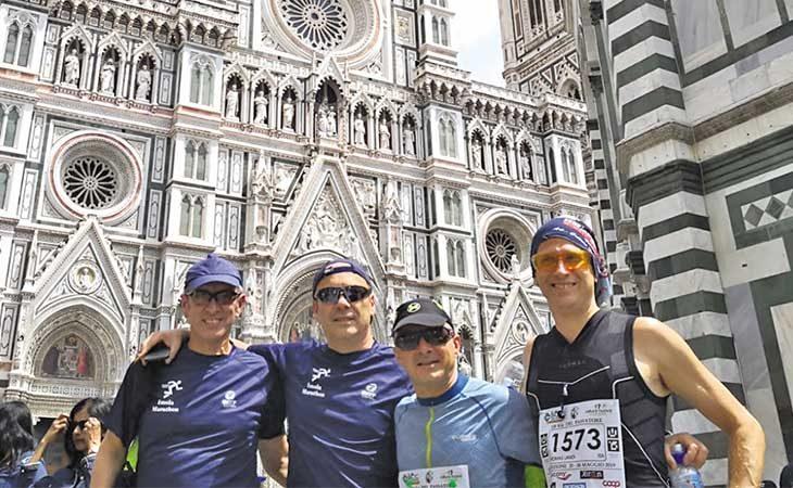 «100 km del Passatore», l'impresa del 54enne imolese Marco Raccagna