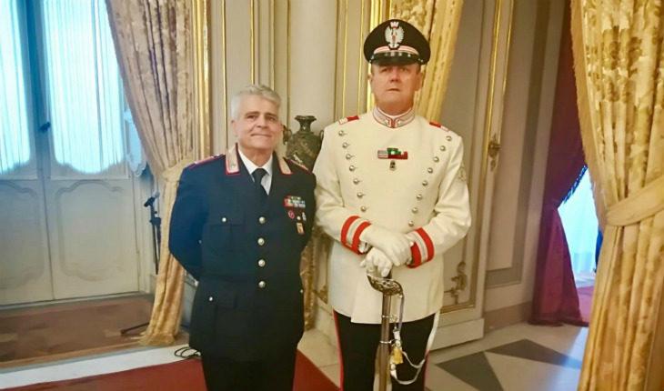 Premiato a Roma il comandante della Stazione dei carabinieri di Castel San Pietro Antonio Rossi