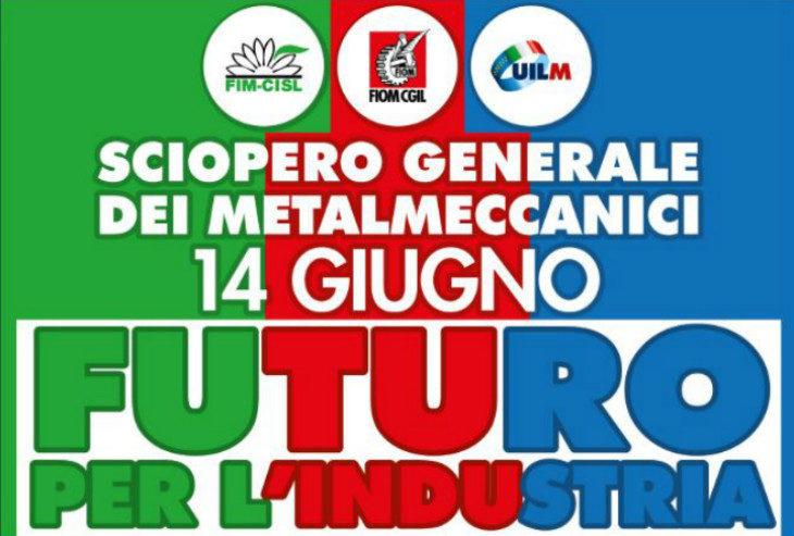 Oggi lo sciopero dei metalmeccanici, la Fiom di Imola alla manifestazione nazionale di Firenze