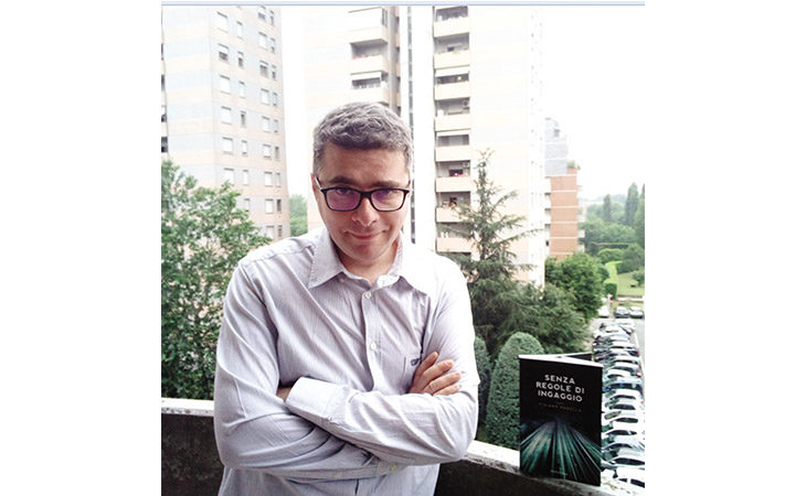 «Senza regole di ingaggio», il nuovo romanzo del giornalista ozzanese Tiziano Fusella