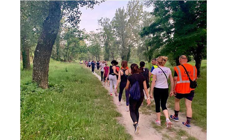 «Camminacittà speciale», a Imola gruppo unico dalla Bocciofila in direzione «autodromo»