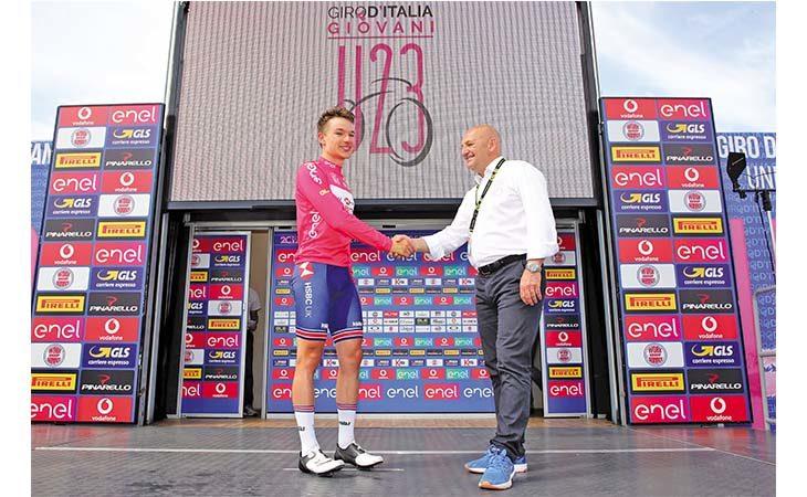 Il Giro d'Italia Under 23 di ciclismo entra nel vivo, Marco Selleri sulla Marmolada insieme ai giovani più forti