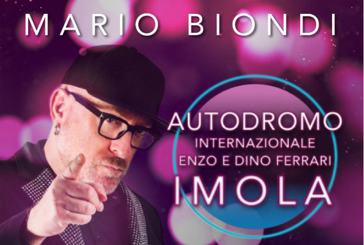"""Domenica 14 luglio concerto gratuito di Mario Biondi nel paddock dell'autodromo """"Enzo e Dino Ferrari'"""