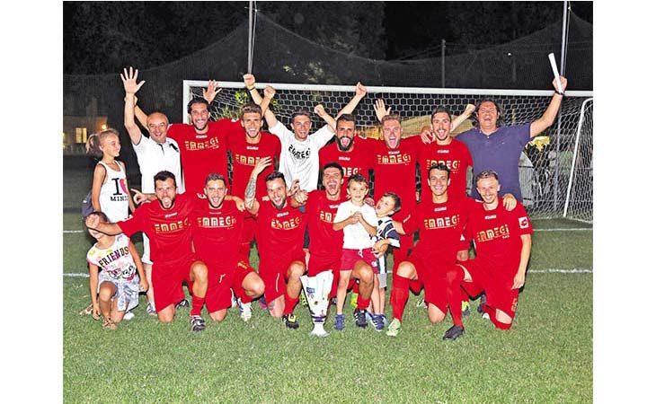Calcio a 7, questa sera la finale del torneo di Sasso Morelli tra Emmegi Bubano e Centro B&B-D'Azeglio