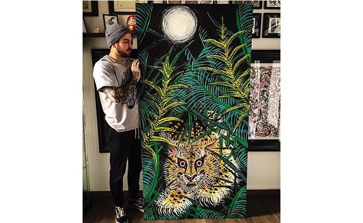 La personale dell'artista imolese Luca Polini in mostra alla galleria Tales of Art