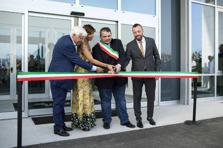 Inaugurata la nuova sede di Logimatic a Ponte Rizzoli, nel comune di Ozzano. La società è partecipata al 30% dall'Ima