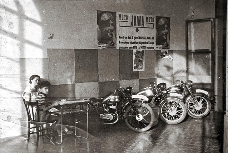 «Jawa», le moto dalla Cecoslovacchia alla Fiera del Santerno