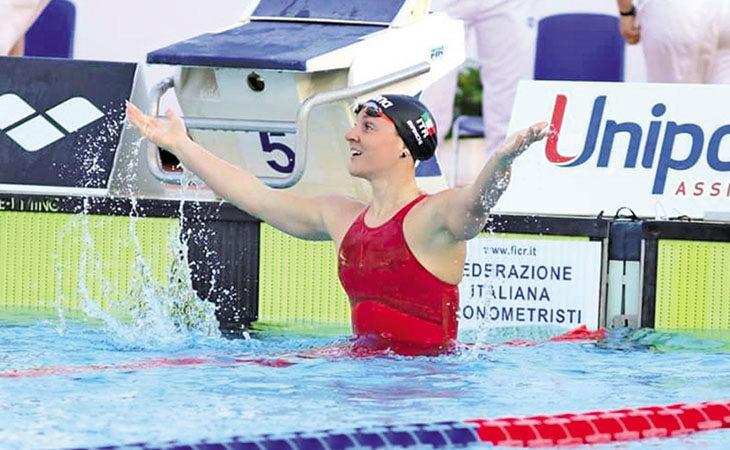 Nuoto, un'immensa Ilaria Bianchi centra il «pass» per il suo sesto Mondiale