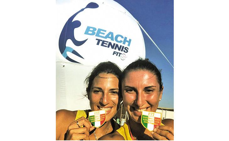 Beach tennis, scudetto tricolore per la coppia Gasparri-Cimatti