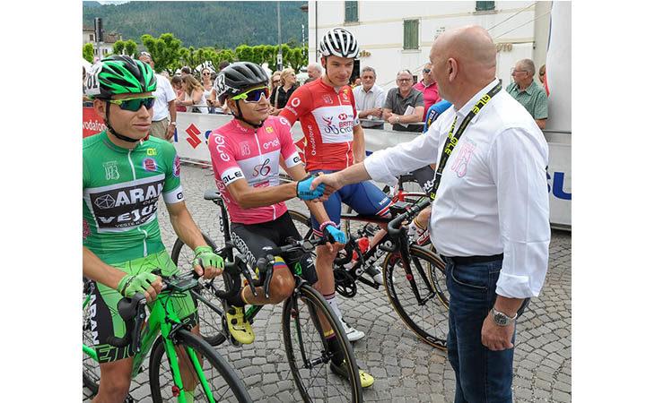 Giro d'Italia Under 23, quanti applausi per Marco Selleri e la sua Nuova Ciclistica Placci