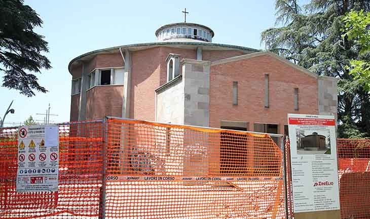 Lavori in corso all'Osservanza, la vecchia chiesetta diventa una sala concerti
