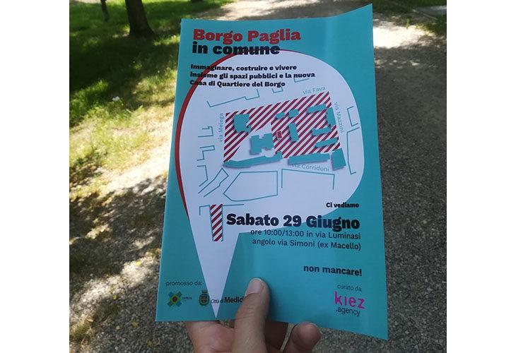 """""""Borgo Paglia in comune', parte a Medicina il percorso di partecipazione per la riqualificazione dell'area"""