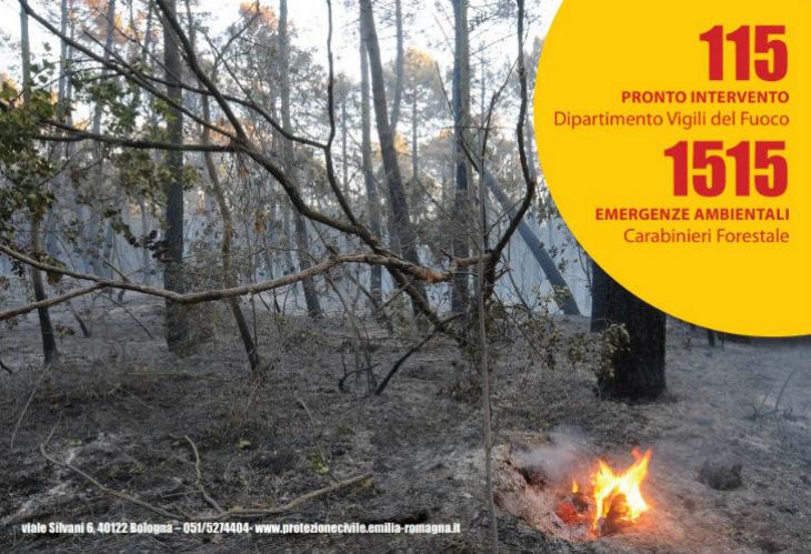 Con il mese di luglio è partita la fase di attenzione in tutta la regione per la prevenzione degli incendi boschivi