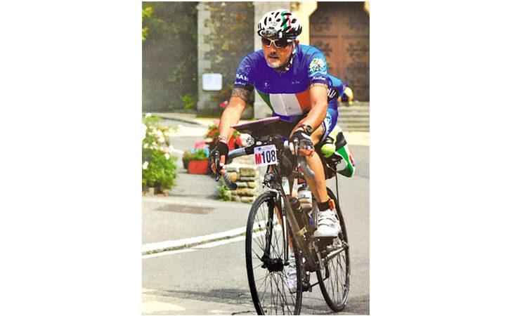 Ciclismo, in agosto Giovanni Caneda parteciperà alla sua quinta Paris-Brest-Paris