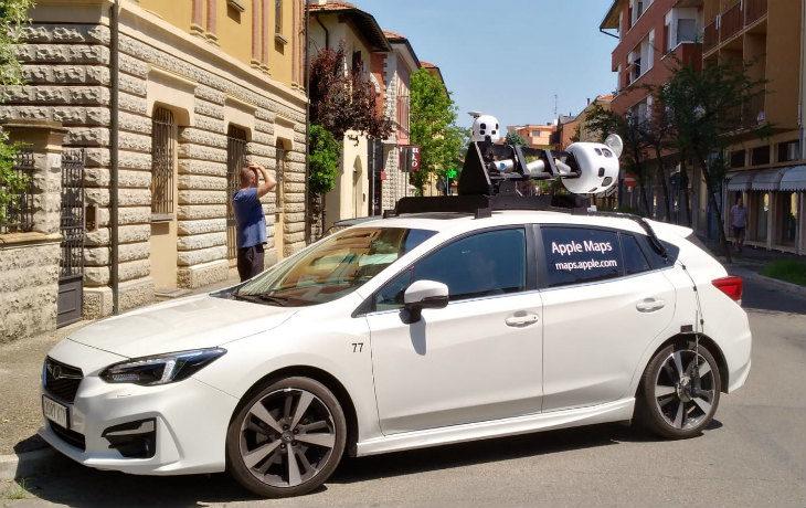 """Lo staff di Apple Maps in giro per Imola per aggiornare mappe e immagini della """"città virtuale'"""