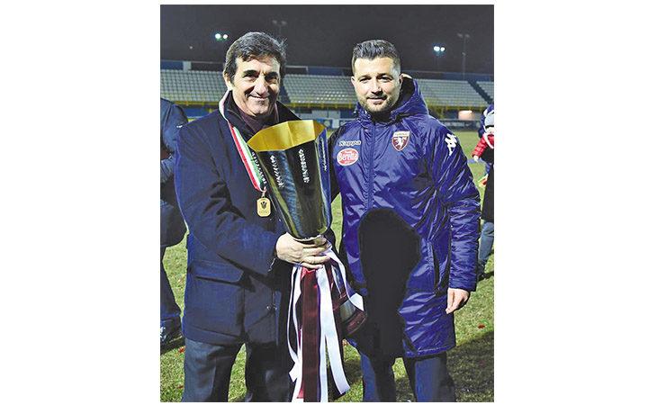 Calcio serie C, Federico Coppitelli è il nuovo tecnico dell'Imolese