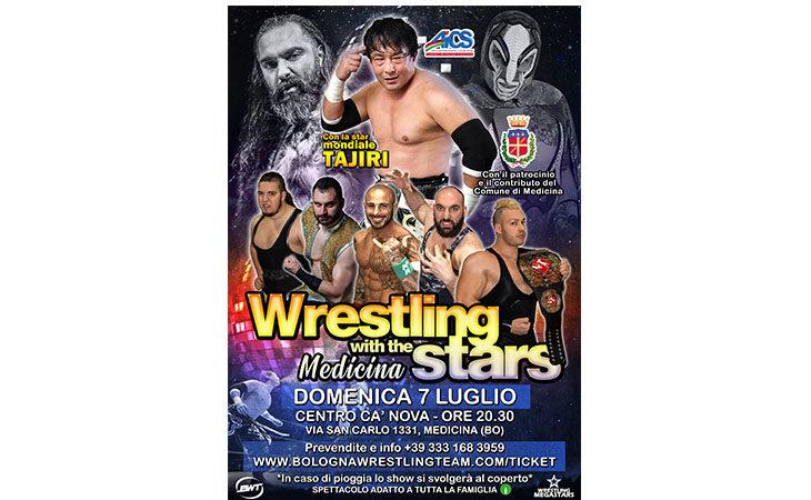 Wrestling, grande show a Medicina con ospite il giapponese Tajiri
