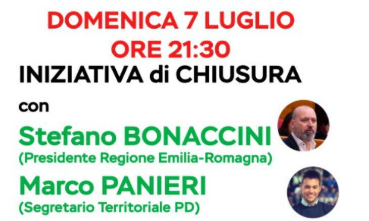La Festa dell'Unità all'Osservanza chiude con il presidente Bonaccini e i fuochi artificiali