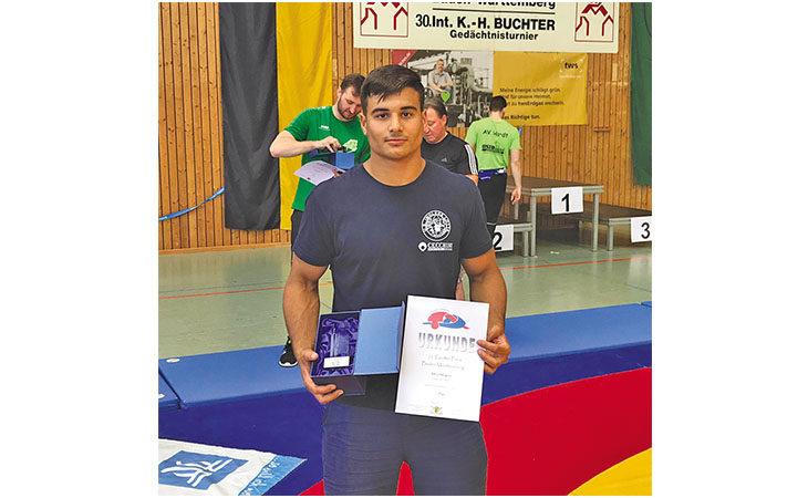 Il lottatore imolese Mirco Minguzzi vince in Germania e spera in un posto per Tokyo 2020