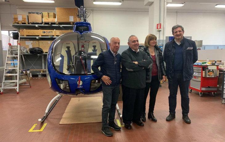 Aerospaziale e packaging eco, l'Università di Bologna punta sulla Curti (che ha inventato l'elicottero con il paracadute)