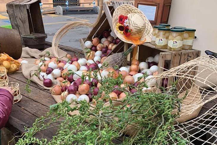 Weekend al gusto di cipolla con l'Antica fiera di luglio a Medicina