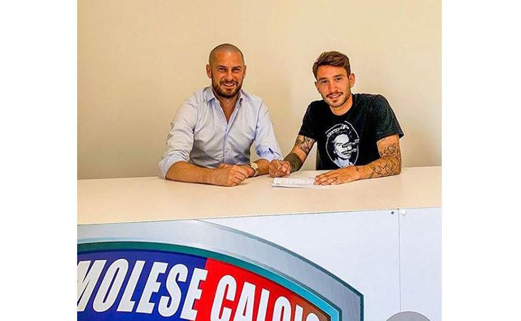 Calcio serie C, il difensore Filippo Boccardi e l'Imolese ancora insieme