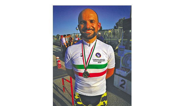 Oro e argento per l'imolese Luca Plazzi ai campionati italiani di ciclismo per non udenti