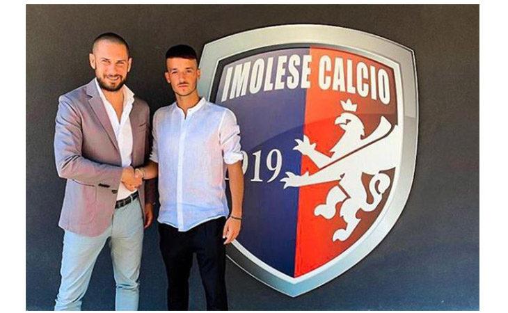 Calcio serie C, per rinforzare il centrocampo dell'Imolese ecco Tommaso Tentoni
