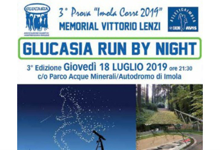 Arriva «Glucasia Run by Night», l'evento che mette in luce l'importanza dello sport per gestire il diabete