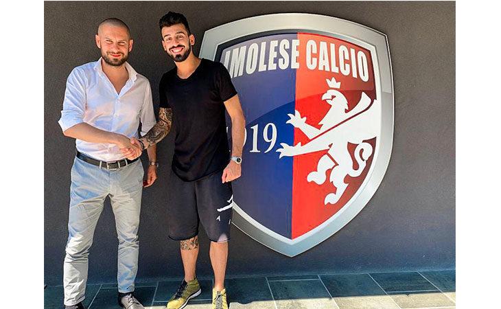 Calcio serie C, l'Imolese si assicura le prestazioni del portiere Davide Libertazzi