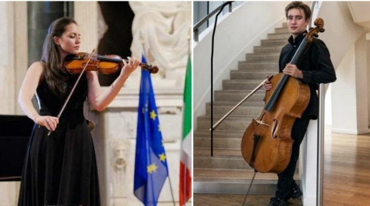 All'Emilia Romagna Festival protagonisti gli archi: a Castel San Pietro la violinista Gibboni e il violoncellista Giovannini