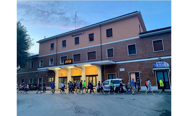 «Camminacittà», a Imola dalla Bocciofila si va in direzione «Carlina»