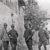 Soldati della Grande guerra in riposo nelle retrovie
