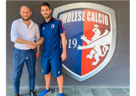 Calcio serie C, Stefano Padovan è il nome nuovo per l'attacco dell'Imolese. In Coppa Italia rossoblù con la Sambenedettese