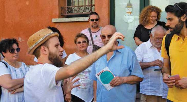 """Una quarantina di cittadini di Medicina hanno partecipato al percorso """"Borgo Paglia in comune'"""