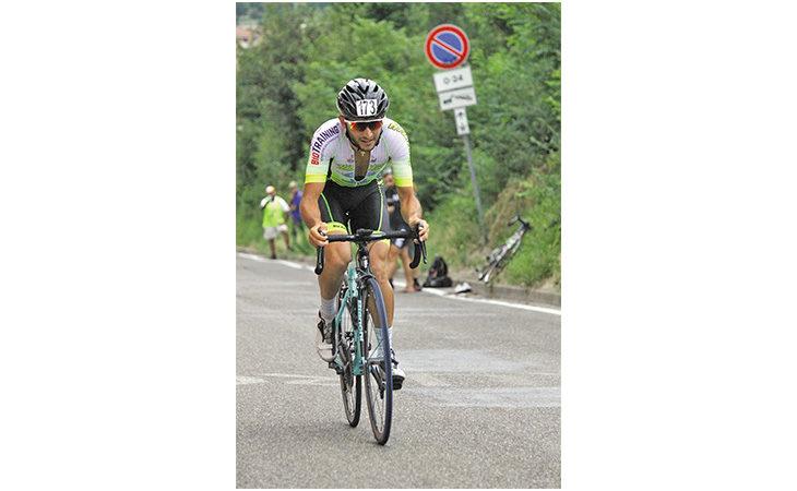 Tra San Luca e diploma, il gran luglio del ciclista imolese Filippo Bedeschi