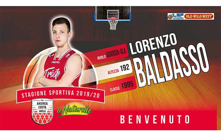 Basket A2, l'Andrea Costa ufficializza l'arrivo di Lorenzo Baldasso