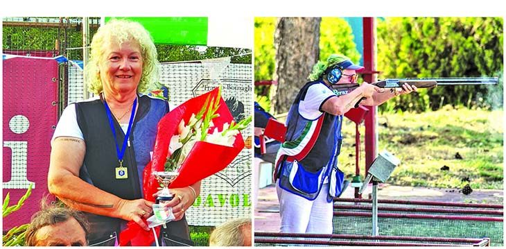 Tiro a volo, la favola dell'ozzanese Paola Tattini che ha vinto titoli in tutte le discipline